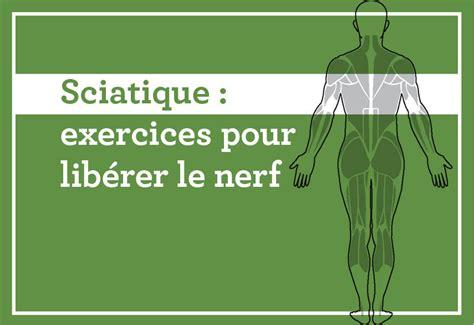 conseils cuisine exercices pour libérer le nerf coup de pouce