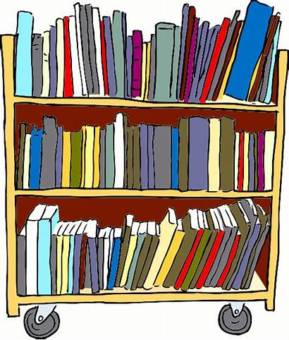 Library Cart Education Transparent Webp