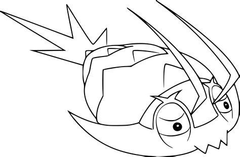 pokemon wimpod coloring page