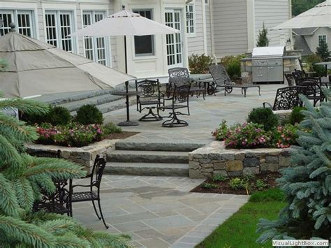 raised patio ideas entertaining patios raised patios patio design in new jersey home yard and landscape