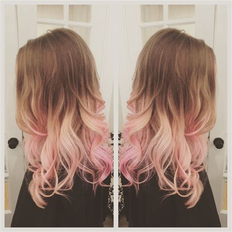 Pink Hair Balayage Ombré Hair Before And Afters