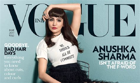 Latest Vogue Cover by Anushka Sharma On Vogue Cover Phillauri Actor Makes A