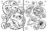 Coloring Asteroid Meteor Template Sketch Templates Ambok sketch template