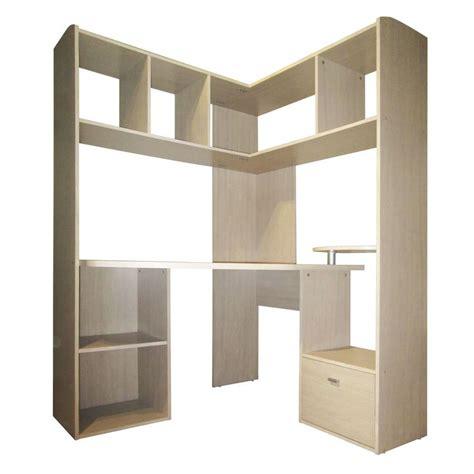 bureaux alinea grand bureau d 39 angle pour ordinateur naturel easy les