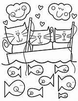 Coloring Pond Printable Ladli Animals sketch template