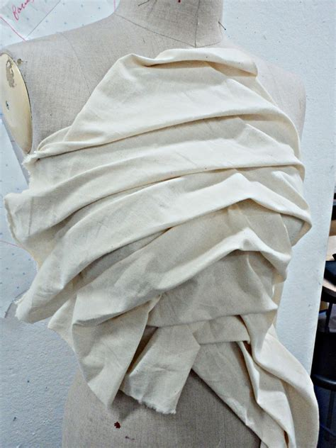 fabric draped growth of creativity draping fabric on the stand