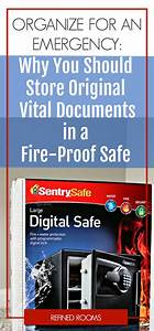 43 best organize for emergency preparedness images on With emergency documents box