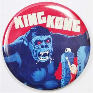 King Kong Movie Poster FRIDGE MAGNET Monster Theater