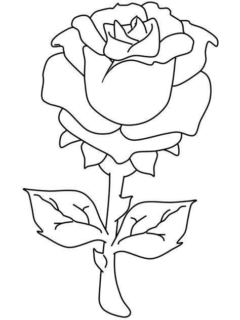 printable rose valentines coloring pages coloringpagebookcom