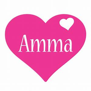 Amma Logo | Name Logo Generator - I Love, Love Heart ...
