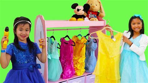 Wendy & Jannie Pretend Play Princess Dress Up W Pink