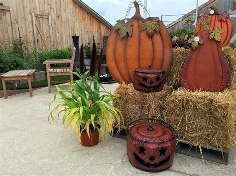 Metal Pumpkin Decorations Galvanized Yard ? AfricanPlant