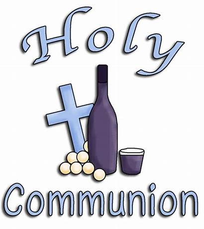 Communion Clip Holy Clipart Word Cup Christening
