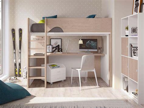 lit mezzanine avec bureau pour ado lit mezzanine ado avec bureau d 39 angle spacieux glicerio