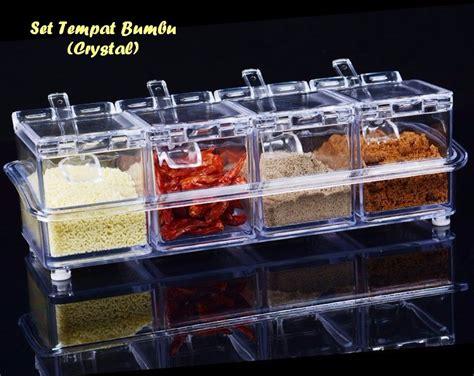 Tempat Bumbu Dapur Keren jual beli seasoning box tempat bumbu dapur