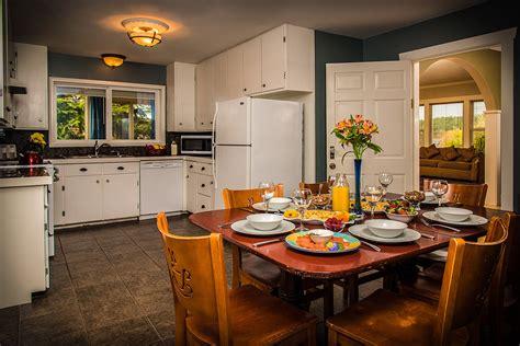 kitchen san juan island harrison house suites san juan islands washington 7555