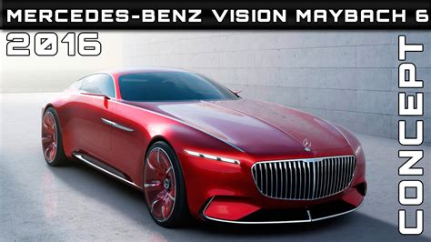 2016 Mercedes-benz Vision Maybach 6 Concept Review