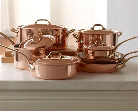 lol mauviel copper  piece cookware set  http