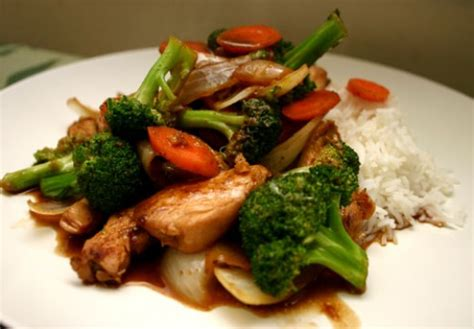 chicken broccoli stir fry sweet ginger broccoli stir fry recipe with tofu or chicken