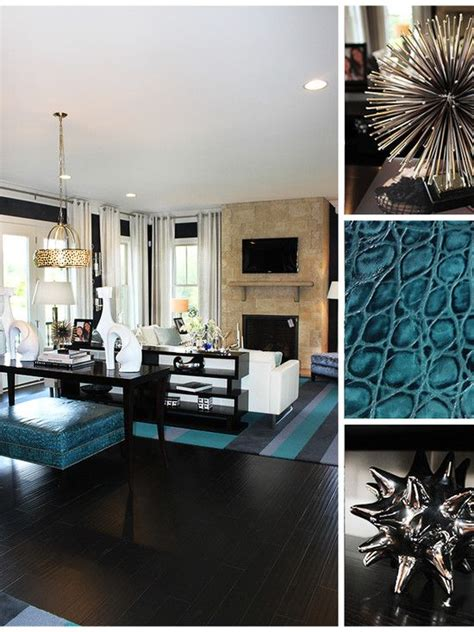 contemporary teal furniture and teal living room