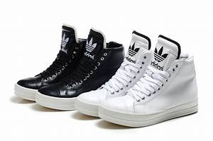 Adidas Shoes High Tops For Girls Black And White ...