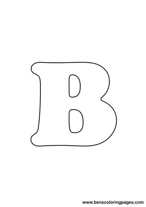 letter  coloring page