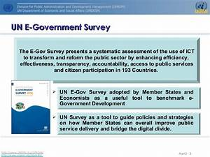 Richard Kerby.Trends from the UN 2014 e-Government Survey ...