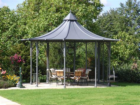Garten Pavillon gartenpavillon aus metall mit dach aktuelletrends