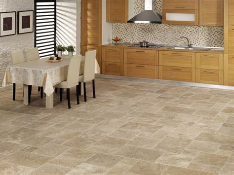 floor tile patterns for kitchens travertine kitchen floor design ideas cost and tips 6647