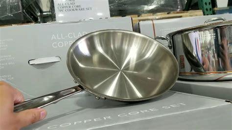 costco  clad  piece copper core cookware set    worth  youtube