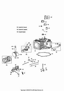 Troy Bilt 4p90hu Engine Parts Diagram For 4p90hu Crankcase