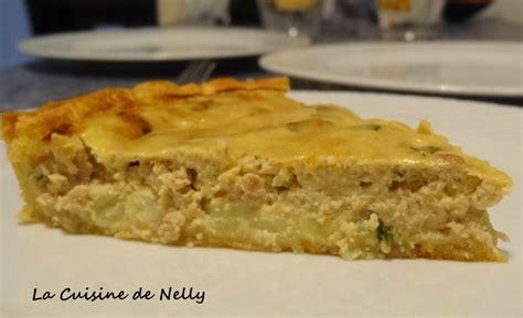 tarte aux pommes de terre et thon 224 la coriandre la