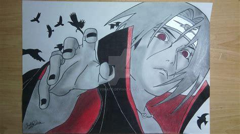 drawings itachi uchiha  yonato  deviantart