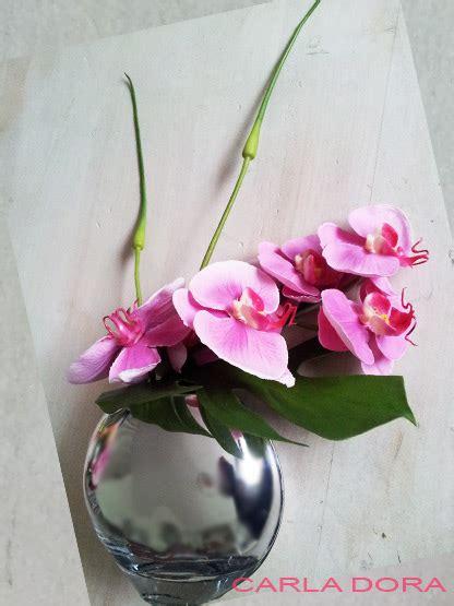 fausse orchidee en pot tige et fleur au rendu naturel cadeau liste de mariage