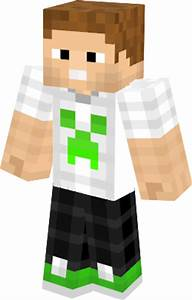Green creeper boy Minecraft Skin