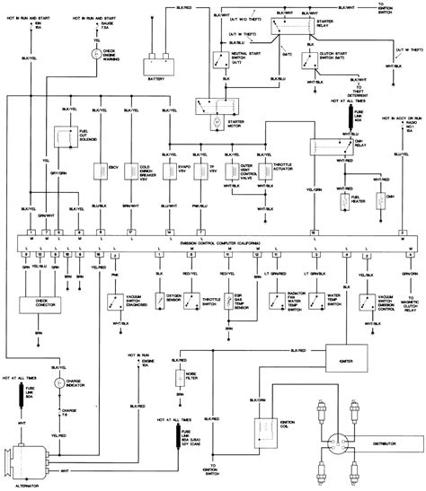 1994 Toyotum Engine Wiring Diagram toyota tercel engine diagram on wiring diagram for 1995