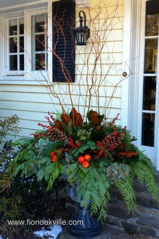 Christmas Planters Fiori Oakville Collection