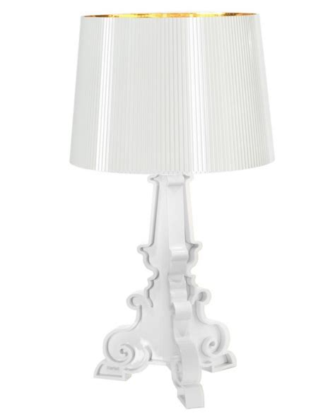 Kartell Bourgie L Knock by Kartell Lada Bourgie Bianco Oro Design By Ferruccio