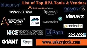 90 Best Rpa Tools List