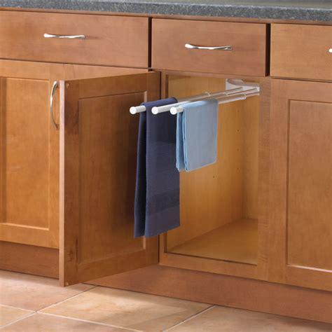 kitchen cabinet towel bar cabinet organizers kitchen cabinet organizers by hafele