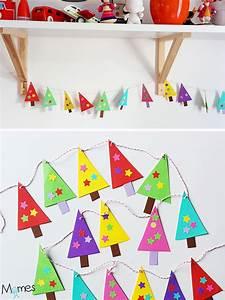 Faire Une Guirlande En Papier : fabriquer une guirlande de sapins en papier ~ Melissatoandfro.com Idées de Décoration