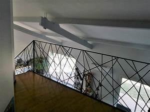Garde De Corps Escalier : escalier m tallique design toulouse rampe garde corps sur mesure fer forg ~ Melissatoandfro.com Idées de Décoration