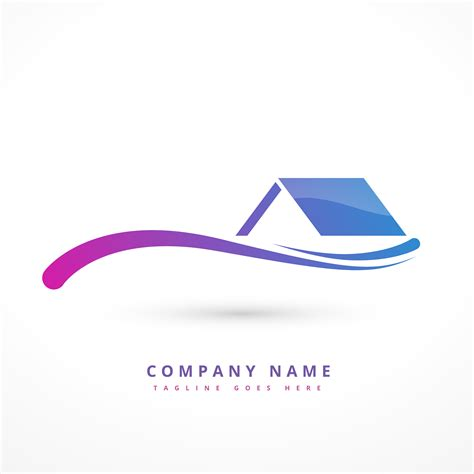 Home Design Companies by House Or Home Company Logo Design Illustration
