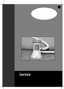 Intex Recreation Water Pump 604 User Guide
