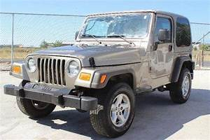 Purchase Used 2005 Jeep Wrangler X Damaged Rebuilder Priced To Sell Wont Last Export Welcome