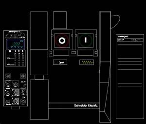 Circuit Breaker  Masterpact Square D  57 03 Kb