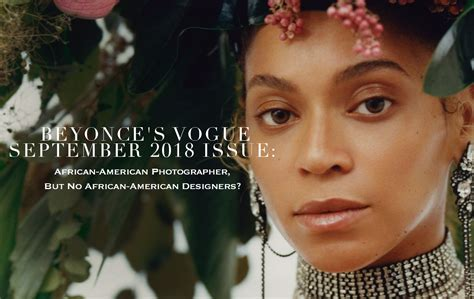 Beyonce's Vogue September 2018 Issue Africanamerican