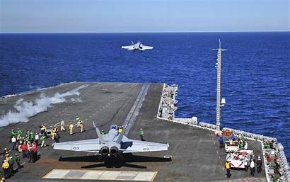 Deck Flight Fighter Airplane Navy Carrier Fly