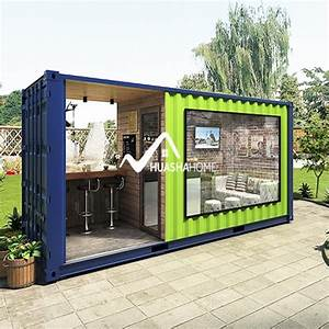 20FT Mobile Folding Shipping Standard Container House For