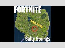 Treasure Map In Salty Springs
